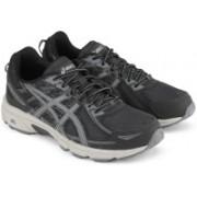 Asics GEL-VENTURE 6 Running Shoes For Men(Black, Grey)
