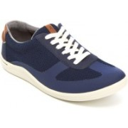 Clarks Mapped Vibe Blue Combi Outdoors For Men(Blue)