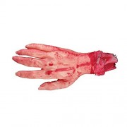 Wensltd Halloween Horror Props Bloody Hand Haunted House Party Decoration