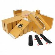 HITSAN INCORPORATION Skate Park Ramp Parts for Tech Deck Finger Board Finger Board Ultimate Parks 92A