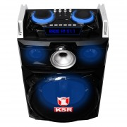 Bocina Recargable Woofer 12 Discos Scratch Tipo DJ Led Audio-rítmicas