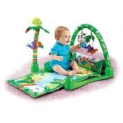 Cuddles Baby Blanket Rainforest Musical Gym Activity Centre Playmat and Floor Gym