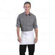 Chef Works Mens Pilot Shirt Grey XL Size: XL