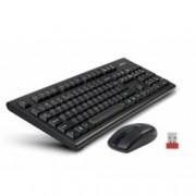 A4Tech V-Track 3100N, безжични клавиатура & мишка, компактен USB приемник