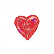 Balon folie inima I Love You