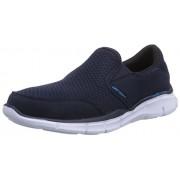 Skechers Men's Navy Blue Mesh Nordic Walking Shoes - 11 UK/India (46 EU) (12 US)