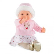 Corolle Mon Grand Poupon My Large Baby Doll Happy Panda Toy Toy, Pink