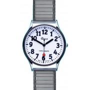 Maxcom Garde Low Vision witte wijzerpl. herenhorloge, chr. 44-5MZ