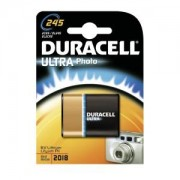 Procter & Gamble Service GmbH DURACELL Ultra Lithium 245 Photobatterie – 6 V, 2CR5, DL245, EL2CR5, 1 Packung = 1 Stück