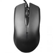 A4tech OP-760 Black, myš, 1 koliesko, 3 tlačítka, USB, čierna