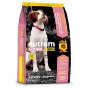 Кучешка храна за средни породи от 6 до 52 седмици Nutram S2 - 13,6 кг