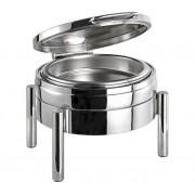 Chafing Dish Rond | Premium | RVS | 440x540x(H)330mm
