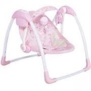 Бебешка електрическа люлка Sky, Moni, розова, 356086