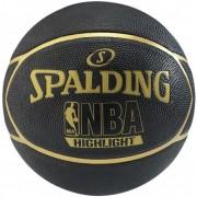 Minge baschet Spalding NBA Highlight Black Gold