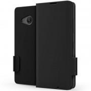 Husa Flip Cover pentru Microsoft Lumia 550, Negru