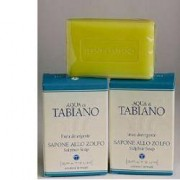 Terme di salsomagg.tabiano spa Aqua Tabiano Sapone Zolfo 100g