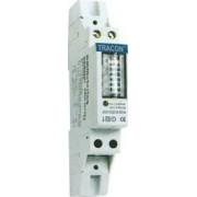 Elektromech. fogyasztásmérő közvetlen méréshez, egyfázisú - 230V / 5 (32)A TVO-F1MV - Tracon