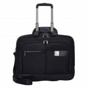 Titan Power Pack 2-Rollen Businesstrolley 48 cm Laptopfach black
