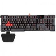Геймърска механична водоустойчива клавиатура bloody b540 с led - a4-key-b540