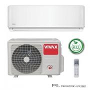 Klima Vivax ACP-09CH25AERI R32, inverter, hlađenje: 2.93kW, grijanje: 2.64kW, split, zidni, vanjska+unutarnja