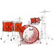 Pearl Crystal Beat Rock Ruby Red Conjuntos de bateria sem ferragens