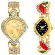 TRUE CHOICE NEW PACK 2 BEST LOOK WOMEN WATCHES WITH 6 MONTH WARRANTY