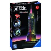 Puzzle 3D Ravensburger Empire State Building With Lights 216 Pieces