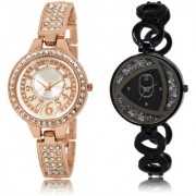 The Shopoholic Silver Black Combo Latest Fashionable Silver And Black Dial Analog Watch For Girls Girl Watches Stylish