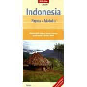 Wegenkaart - landkaart Papua (Papoea) - Maluku (Molukken) | Nelles