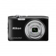 Cámara Fotográfica Nikon 20.1 MP 5X Compacta Negra A100