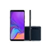 Smartphone Samsung Galaxy A9 SM-A920F Preto 6GB 128GB Tela 6.3 Dual Chip 4G Android 8 - Desbloqueado