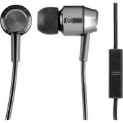 Panasonic Słuchawki dokanałowe RP-HDE5ME-S Srebrno-czarny