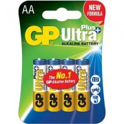 Алкална батерия GP ULTRA PLUS LR6 AA /4 бр. в опаковка/ 1.5V - GP-BA-+ULTRA-LR6