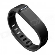 Gran banda de muneca con cierre para Fitbit Flex Smart Bracelet - Negro
