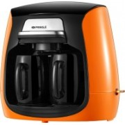 PRINGLE CM2100 2 Cups Coffee Maker(Orange)