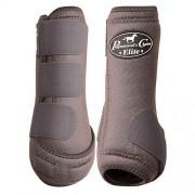 Professional's Choice Profesionales elección Equine medicina deportiva Ventech Elite pierna boot Value Pack, juego de 4, Carbón, Mediano