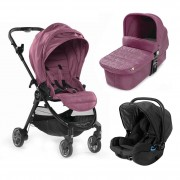 Baby Jogger carucior 3 in 1 City Tour Lux 0m+ Rosewood