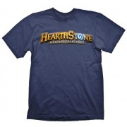 Tricou Hearthstone Logo Navy XL