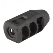 Precision Armament M11 Muzzle Brake 338 Caliber - M11 Muzzle Brake 338 Caliber 5/8-24 Ss Black