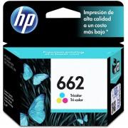 Cartucho De Tinta HP 662 Tricolor CZ104AL