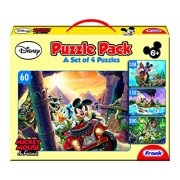 Frank Mickey Mouse & Friends Activity Puzzle Pack - Yellow