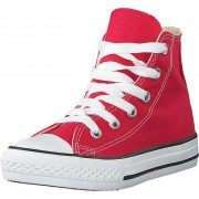 Converse Chuck Taylor All Star Hi Kids Red, Skor, Sneakers & Sportskor, Höga sneakers, Röd, Barn, 30