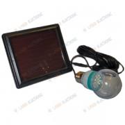 Kit Illuminazione Solare con Lampada a Led e Pannello Solare
