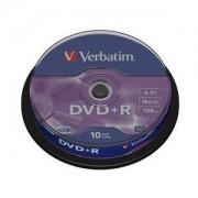 DVD+R 16X 4.7GB AZO MATT SPINDLE10