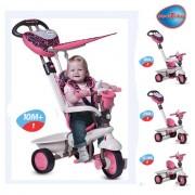 Smart Trike tricikl za decu sa ručkom za guranje Dream Team Pink 4 u 1