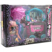 Original Monster High Scaris - The City of Frights Cafe Cart Playset