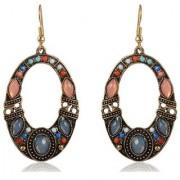 Sanaa Creations Multi-Colour Fancy Party Wear Dangle Drop Earrings New Year Special offer for Women