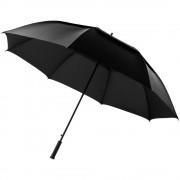 Umbrela 32 inch automata, Everestus, BN, nylon, negru, saculet de calatorie inclus