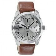 Fastrack Casual Analog Silver Dial Mens Watch - 3123Sl02
