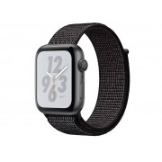Nike Умные часы APPLE Watch Nike+ Series 4 40mm Space Grey Aluminium Case with Black Nike Sport Loop MU7G2RU/A